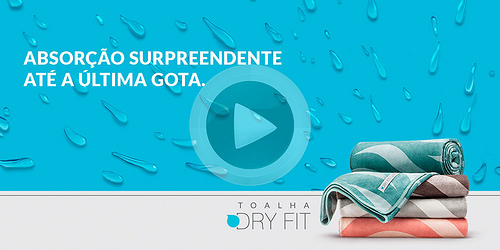Toalhas Dry Fit: campanha da Free para lançamento da Altenburg tem foco no digital.